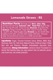 Candy Club Lemonade Straws - Side cropped