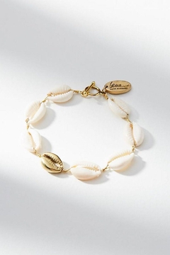 Shoptiques Product: Shell & Brass Bracelet