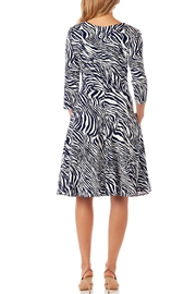 Jude Connally Lennox Ponte Fit-n-Flare - Front full body