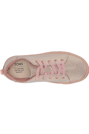 TOMS Lenny Elastic Rose Gold Iridesacent Droplets - Front full body
