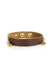 Lenny & Eva Chestnut Leather Cuff - Product Mini Image