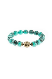 Lenny & Eva Marbled Teal Bracelet - Product Mini Image