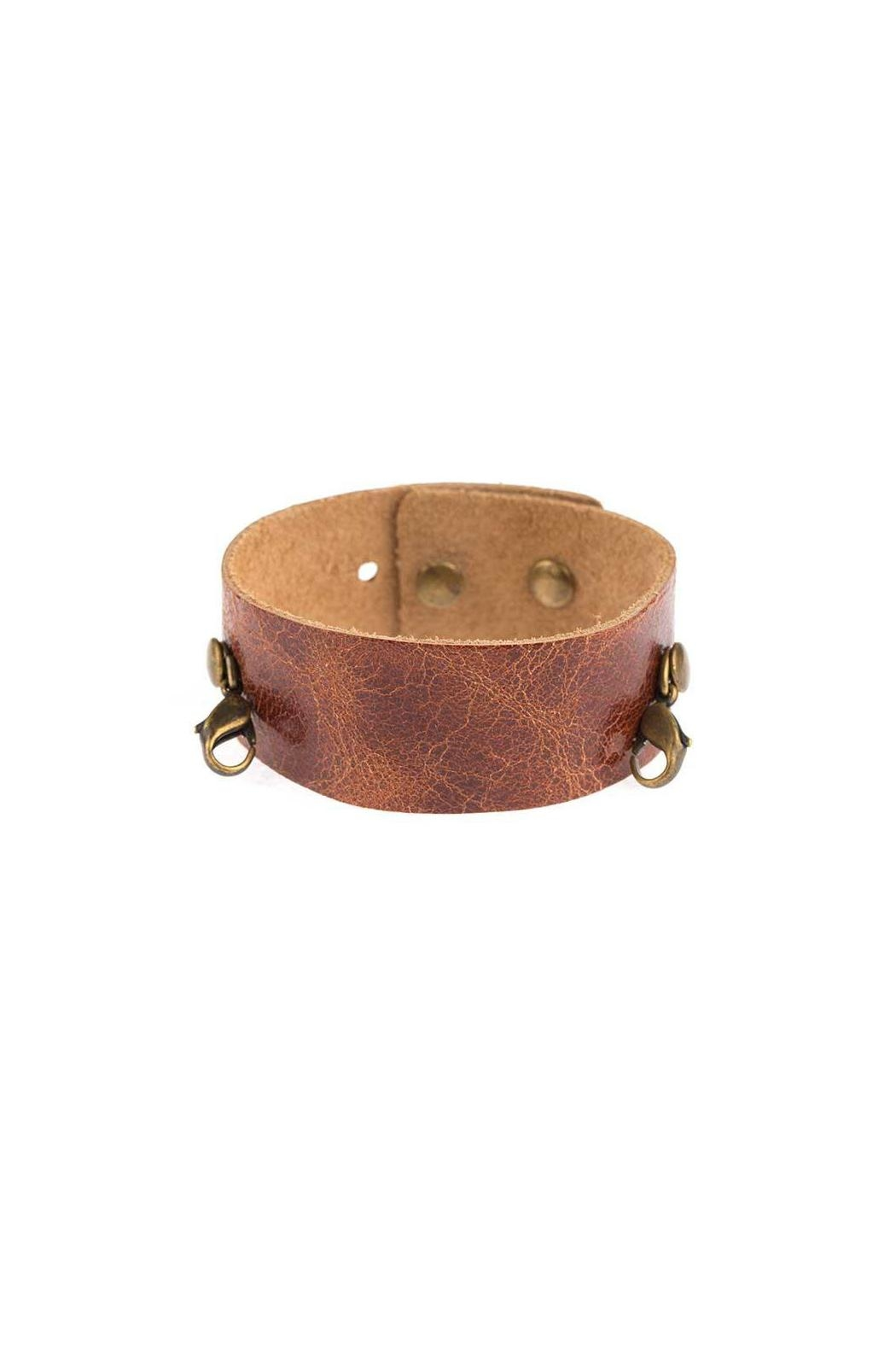 Lenny & Eva Scotch Thin Cuff - Front Cropped Image