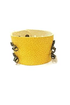 Shoptiques Product: Wide Cuff Yellow