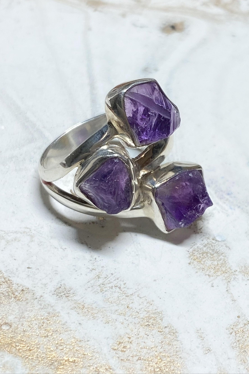 Lenore Jewelry Amethyst Ring - Main Image
