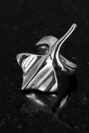 Lenore Jewelry Manta Ray Ring - Product Mini Image