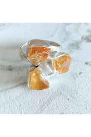 Lenore Jewelry Raw Citrines Ring - Product Mini Image