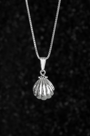 Lenore Jewelry Shell Pearl Necklace - Product Mini Image