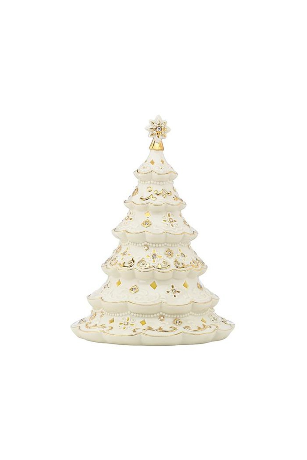 Lenox florentine pearl lighted tree from new york city by lenox florentine pearl lighted tree front cropped image reviewsmspy
