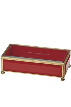 Shoptiques Product: Red Jewelry Box