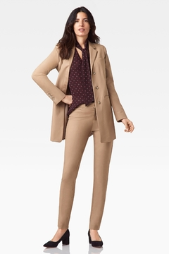 Ecru Lenox Slim Pant, Camel - Alternate List Image