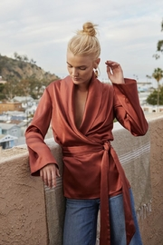 The JetSet Diaries Leo Wrap Top - Product Mini Image