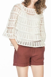 LEO & SAGE Crochet Sweater - Product Mini Image