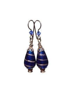 Shoptiques Product: Blue Gypsy Earrings