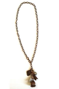Shoptiques Product: Metal Bouquet Necklace