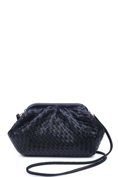 Urban Expressions Handbags & Accessories Leona Woven Vegan Leather Crossbody Bag - Alternate List Image