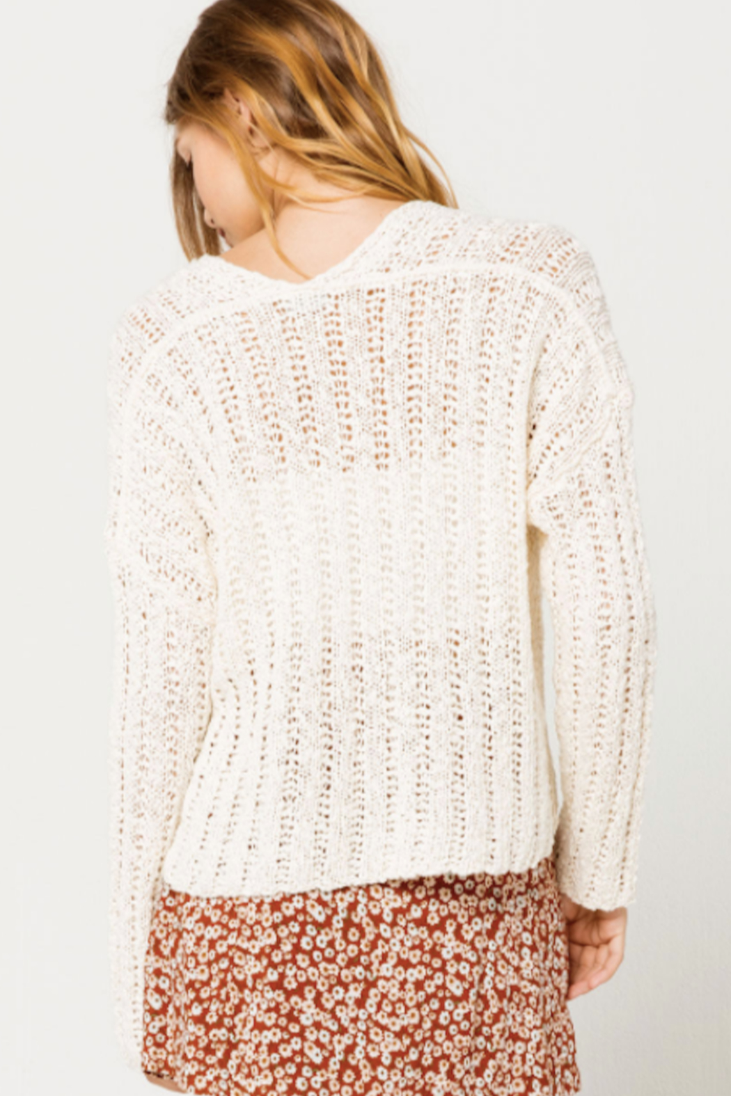 Others Follow  Leony Sweater - Side Cropped Image