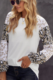 Shewin Leopard Arm Top - Product Mini Image