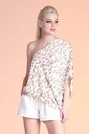 Tyche Leopard Asymmetric Top - Product Mini Image