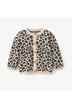 Shoptiques Product: Leopard Baby Cardigan