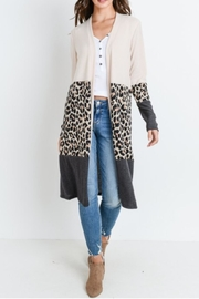 Bedazzled Leopard Block Duster - Product Mini Image