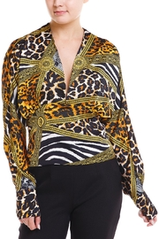 Her Bottari Leopard Blouse - Product Mini Image