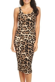 Imagine That Leopard Bodycon Dress - Product Mini Image