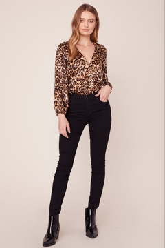 BB Dakota Leopard Bodysuit - Alternate List Image