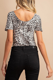 ee:some Leopard Bodysuit - Front full body