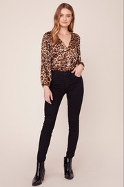 BB Dakota Leopard Bodysuit - Back cropped
