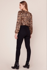 BB Dakota Leopard Bodysuit - Front full body