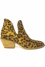 Lets See Style Leopard Booties - Front cropped