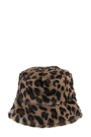 ICCO Leopard Bucket Hat - Front cropped