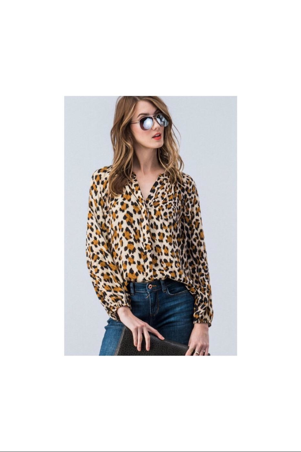 Trend:notes Leopard Button Down - Main Image