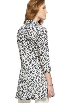 Nic + Zoe Leopard Button Down Shirt - Alternate List Image