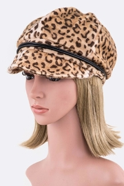 Nadya's Closet Leopard Cabbie Hat - Product Mini Image