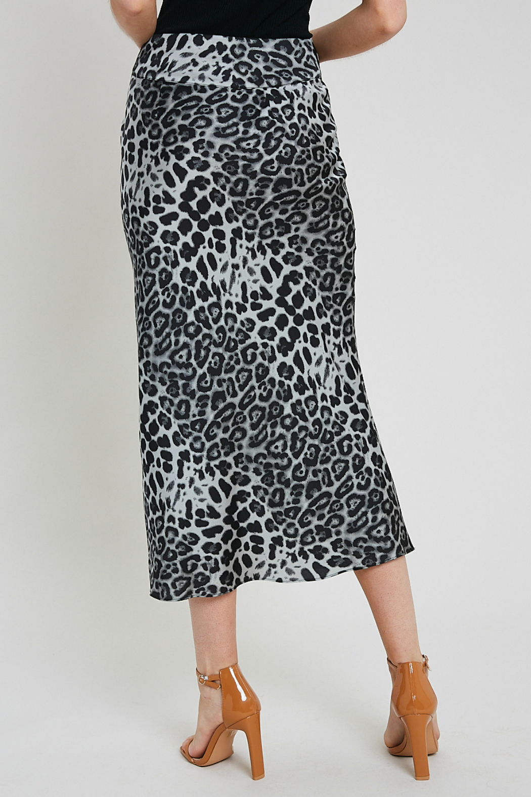 Wishlist Leopard combo skirt - Side Cropped Image