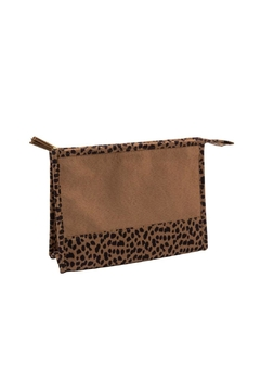 Mainstreet Collections Leopard Cosmetic Bag - Alternate List Image
