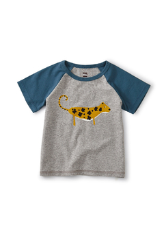 Tea Collection Leopard Cub Club Raglan Tee - Alternate List Image