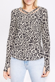 Generation Love  Leopard Cut-Out Top - Product Mini Image
