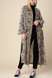 TIMELESS Leopard Duster Coat - Product Mini Image