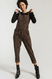 z supply Leopard Full Length Overall - Product Mini Image