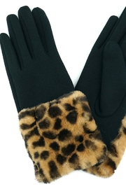Fashion Unic LEOPARD FUR GLOVES - Product Mini Image