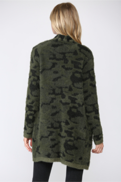 Fate Leopard Fuzzy Knit Cardigan - Alternate List Image