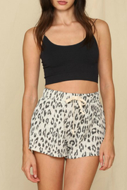 By Together  Leopard Hacci Shorts - Product Mini Image