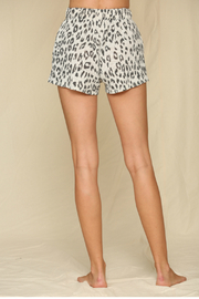 By Together  Leopard Hacci Shorts - Side cropped