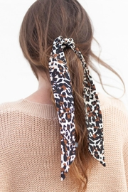 Mark Ashton Leopard Hair Scarf - Product Mini Image