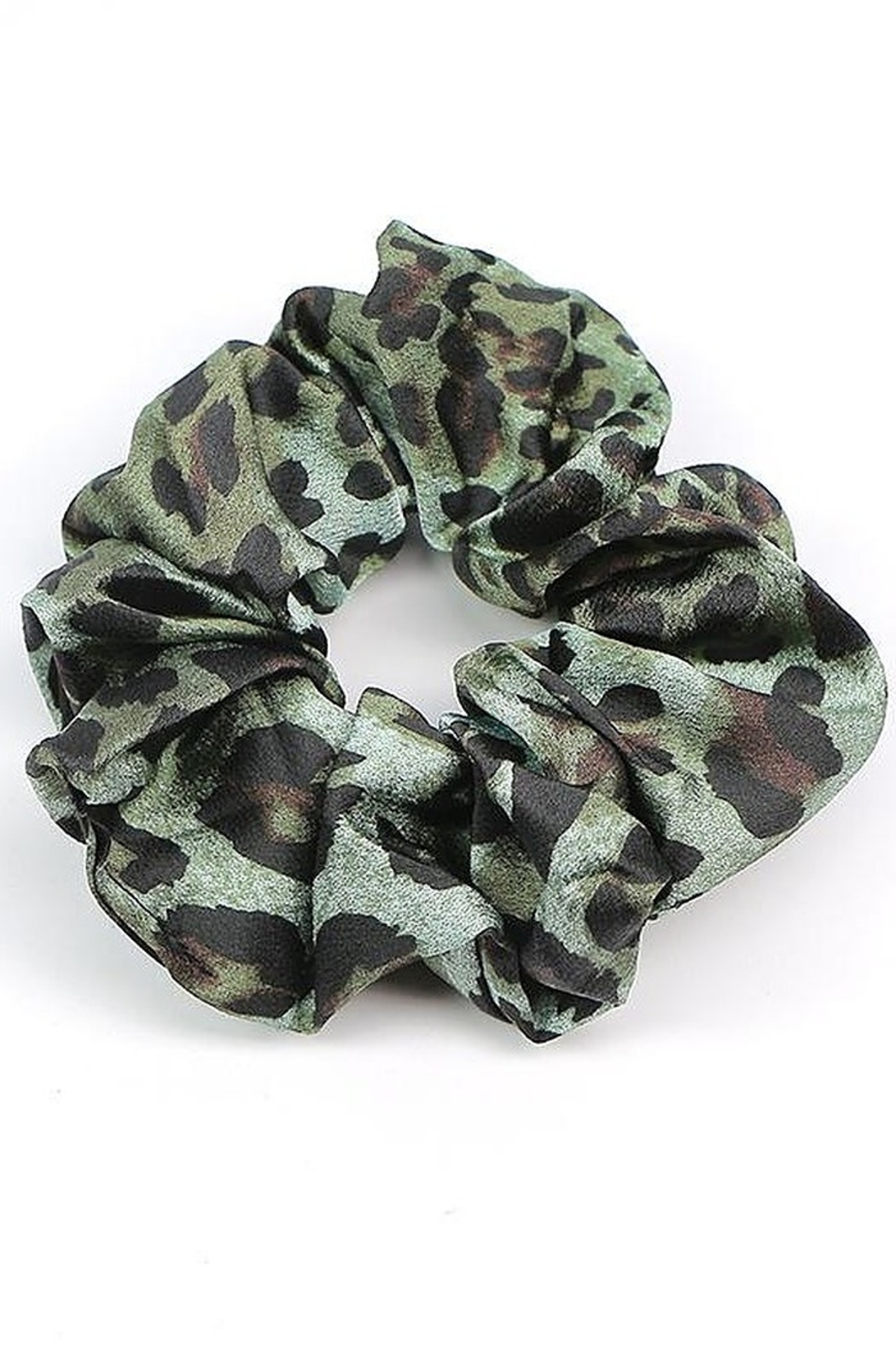 Supplied Leopard Hair Scrunchie - Front Cropped Image
