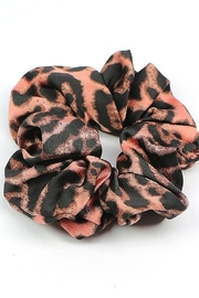 Supplied Leopard Hair Scrunchie - Front cropped