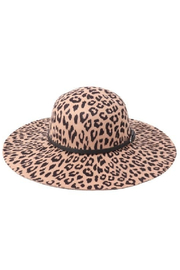 Riah Leopard Hat - Front cropped
